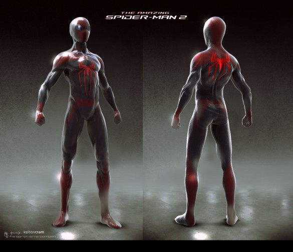 Amazing Spider-Man concept art spidey