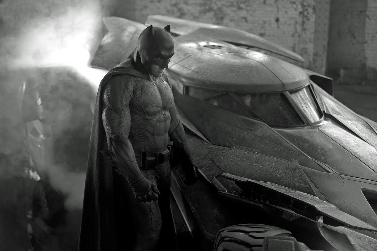 Batman vs Superman Affleck Costume First Image Best of the Week: Ben Affleck As Batman, Summer Movie Podcast, Everything Godzilla, and More
