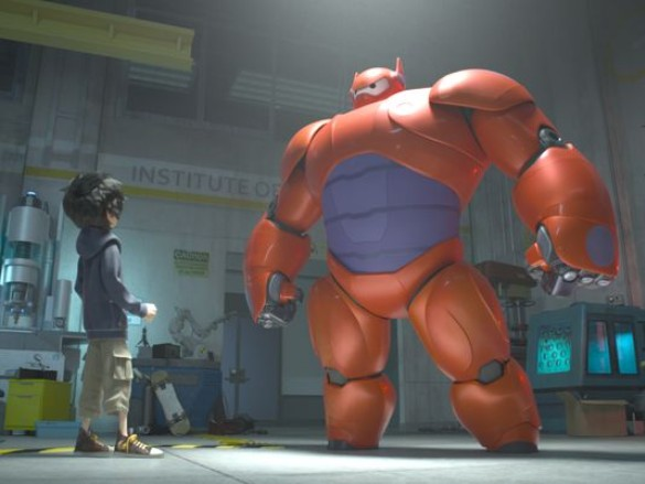 Big Hero 6 1 (585 x 439) Watch the Trailer for Disneys First Animated Marvel Movie, Big Hero 6
