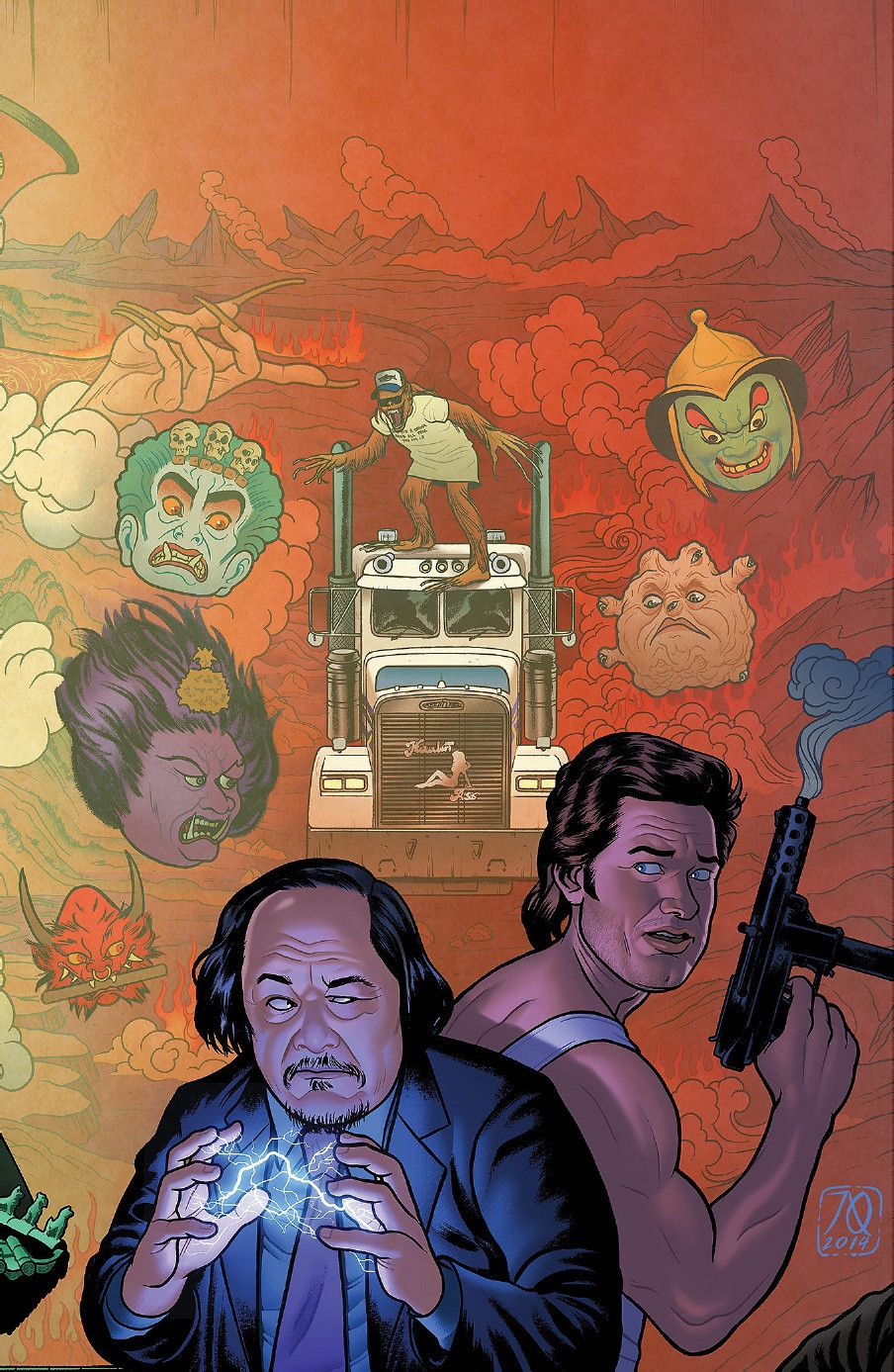 Big Trouble in Little China Comic cover