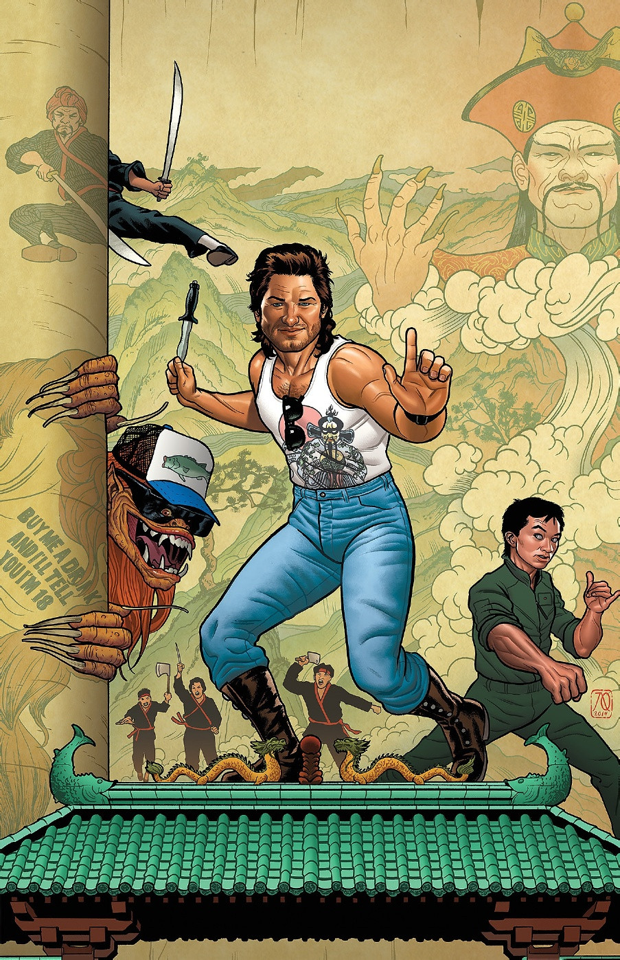 Big Trouble in Little China cover art 2