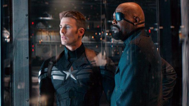 Captain America The Winter Soldier Chris Evans Samuel L Jackson Comics on Film: Ranking 2014s Comic Book Movies