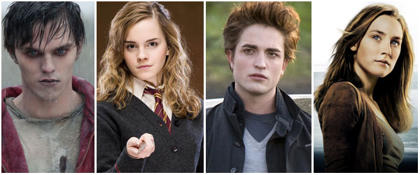 Warm Bodies, Harry Potter, Twilight and The Host