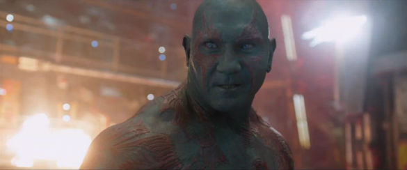 guardians galaxy dave bautista 585 Movie News: Kickboxer Remake; Bond 24 Casting; Tom Cruise Stars in Extended Edge of Tomorrow Trailer