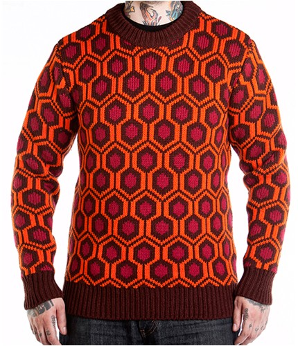 mondoshining Fans of The Shining Can Now Wear the Overlook Hotel Carpet Pattern via New Merch from Mondo