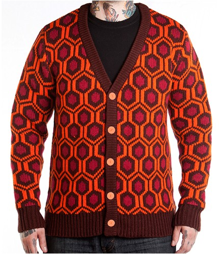 mondoshining2 Fans of The Shining Can Now Wear the Overlook Hotel Carpet Pattern via New Merch from Mondo