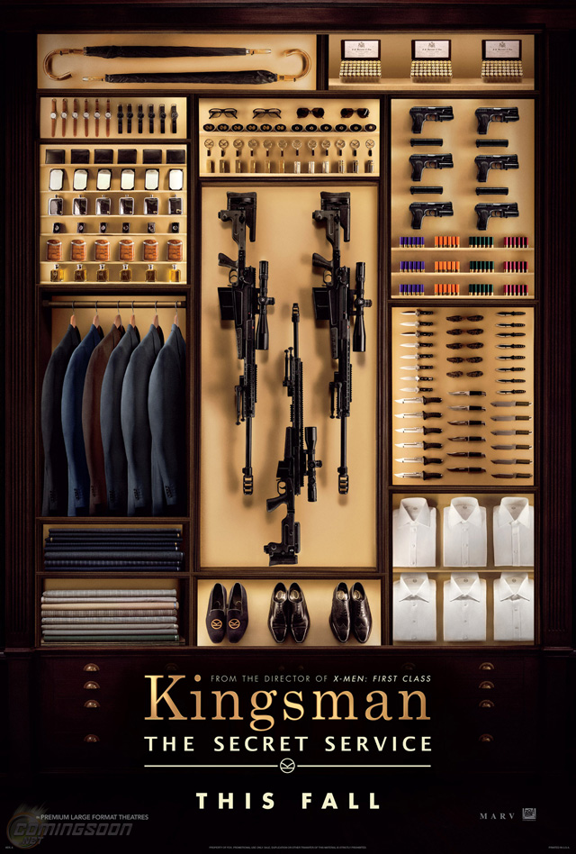 Kingsman - Secret Service Poster