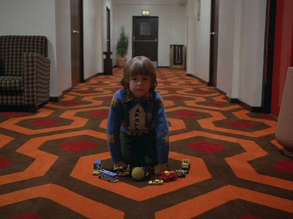 shiningphoto Fans of The Shining Can Now Wear the Overlook Hotel Carpet Pattern via New Merch from Mondo