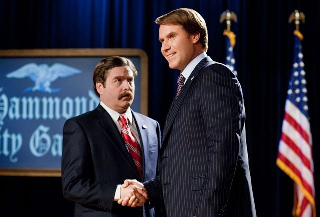 the campaign image 1 Great News: Will Ferrell and Zach Galifianakis are Reteaming on a Movie Directed by Richard Linklater