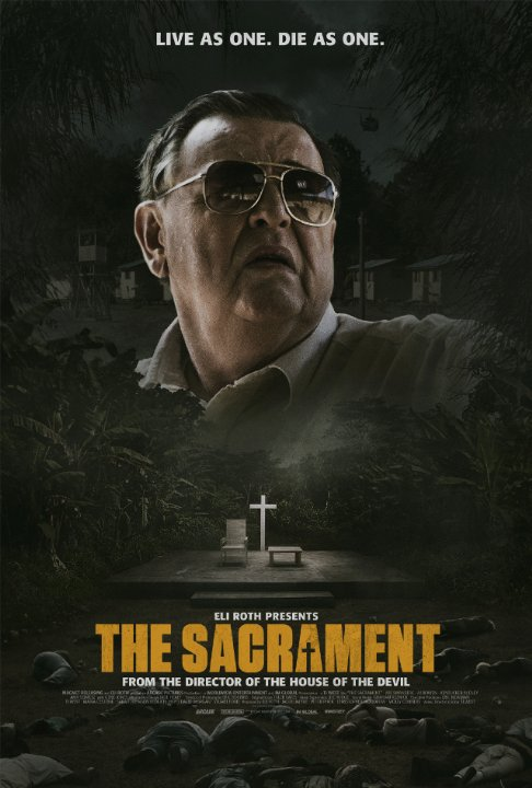 the sacrament poster Ti West and AJ Bowen Tell Us About Turning The Sacrament into a Different Breed of Horror Movie