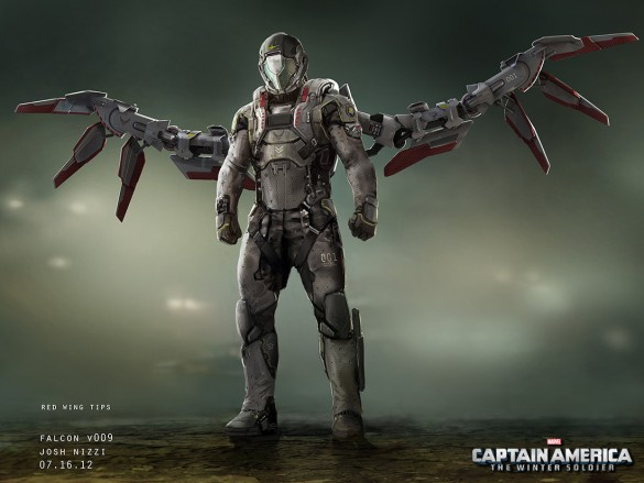 Captain America Concept Art Falcon 1