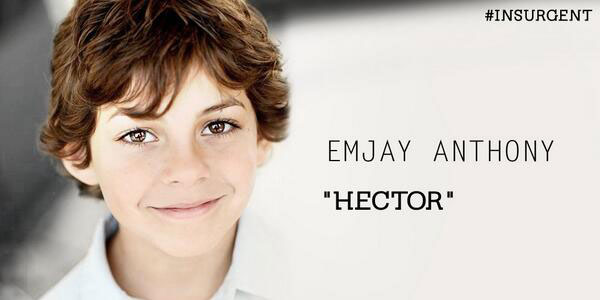 Emjay Anthony is Hector