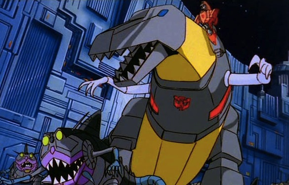 Transformers Dinobots Grimlock Grimlock is The Dinobot Head