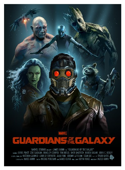 Guardians of the Galaxy Fan poster