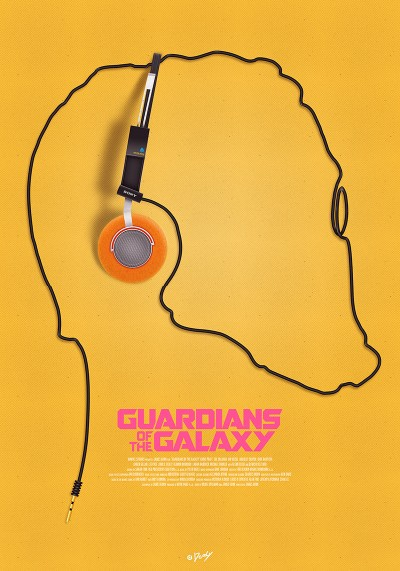 Guardians of the Galaxy fan poster 3