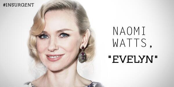 Naomi Watts is Evelyn