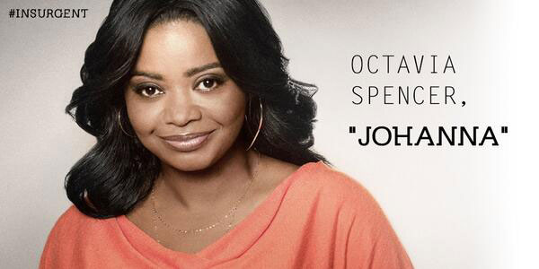 Octavia Spencer is Johanna