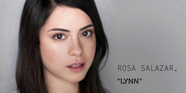 Rosa Salazar is Lynn