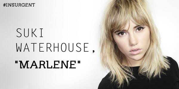 Suki Waterhouse is Marlene