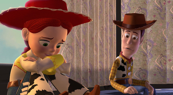 Toy Story 2 Woody and Jessie Your Top Three: Animated Movie Sequels