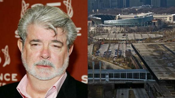 George Lucas / Chicago Museum Site