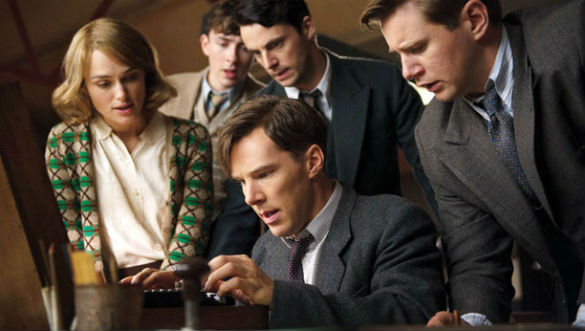 imitation game benedict cumberbatch 01 585 Movie News: Ghostbusters Returning to Theaters; First Trailer for Are You Here From Mad Men Creator