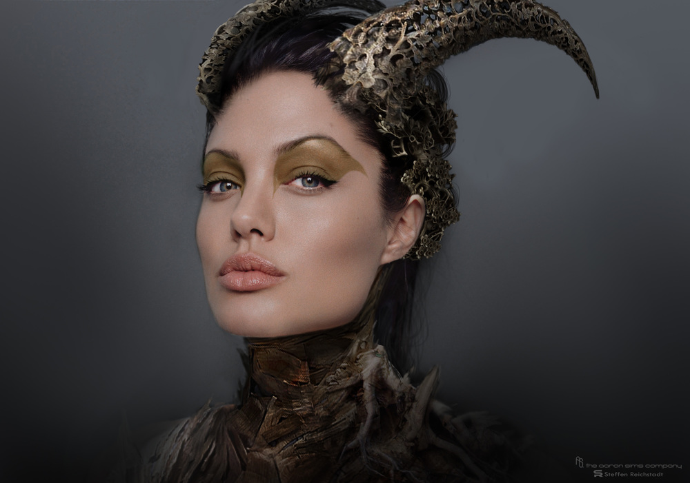 Angelina Jolie Maleficent concept art