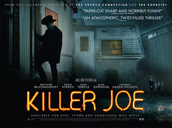 killer joe tv show William Friedkin Tells Us Killer Joe and To Live and Die in L.A. TV Shows Are in the Works