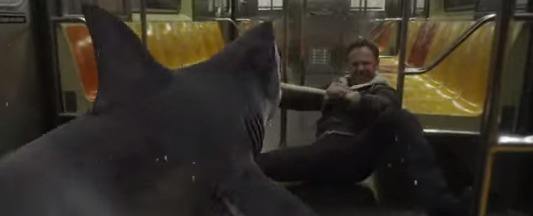 sharknado2 Sharknado 2 Preview: Watch a Shark Attack a NYC Subway Car