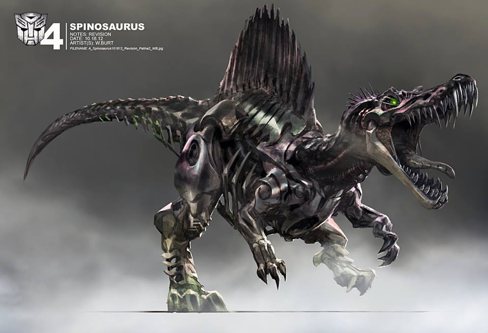 Cool Concept Art Reveals What The Dinobots Almost Looked