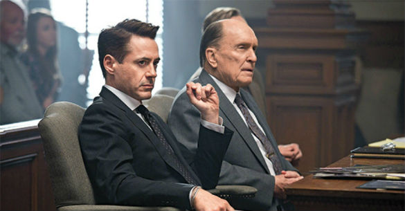the judge 140620 585 Movie News: Watch Trailers for Robert Downey Jr.s The Judge and Kevin Harts The Wedding Ringer