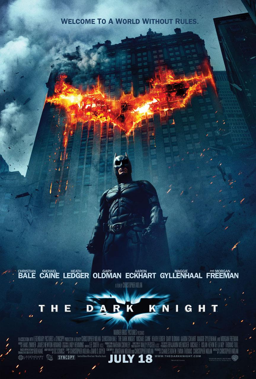 the dark knight poster Why Dawn of the Planet of the Apes Is the Best Sequel Since The Dark Knight