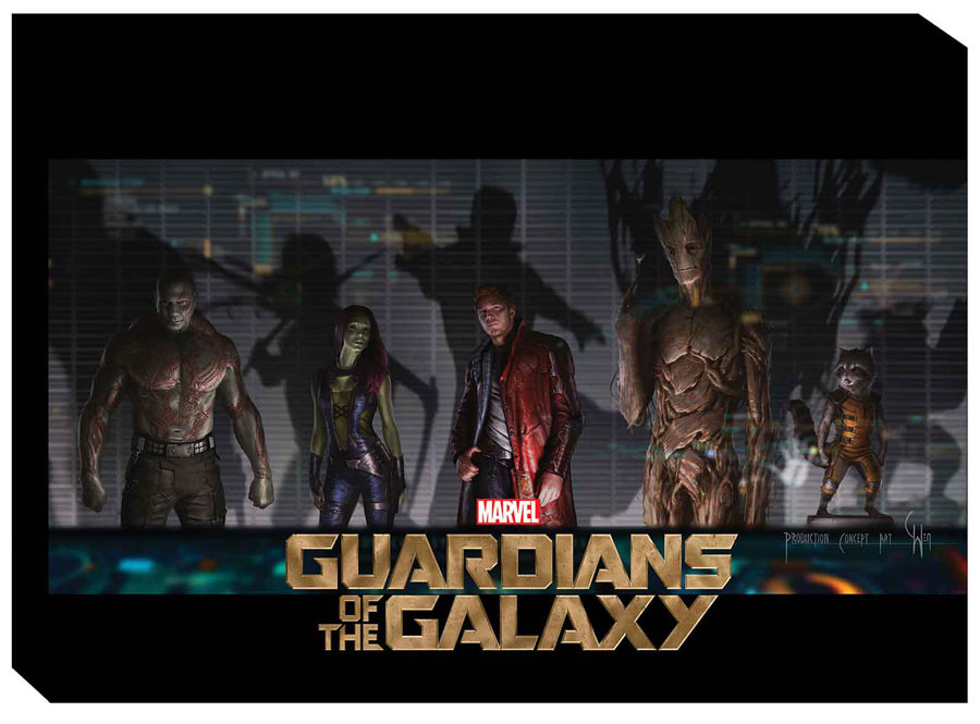 05 guardians of the galaxy art of movie The Geek Beat: Batmans 75th, Guardians of the Galaxy Gear, and More Stuff to Look for in July