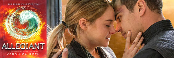 Allegiant, Theo James and Shailene Woodley