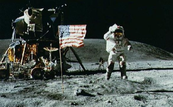 Apollo 11 moon landing