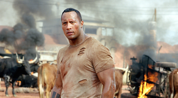 Dwayne Johnson in The Rundown Your Top Three: Dwayne The Rock Johnson Movies