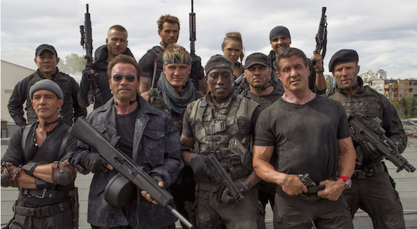 Expendables 3 cast What Former Athlete Is the Best Movie Actor?