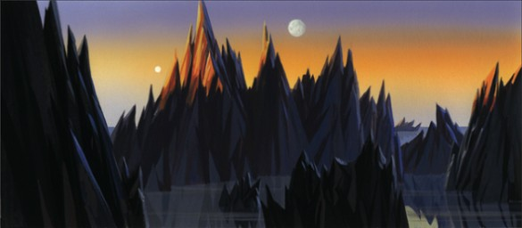 Forbidden Planet Concept Art