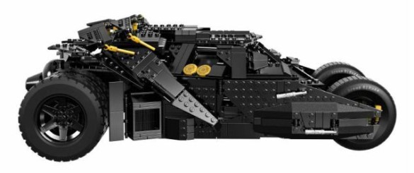 Lego Batman Tumbler side