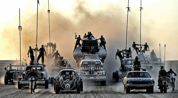 Mad Max Fury Road Autos What Movie Won Comic Con 2014?