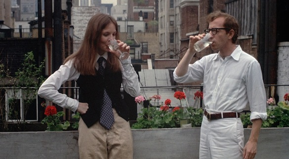 Woody and Keaton in Annie Hall Your Top Three: Woody Allen Movies