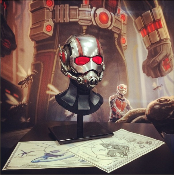 ant man helmet Comic Con: Robert Kirkmans AIR Teaser, Star Wars Comics, Hulkbuster Armor, And More You Mightve Missed From Day 3