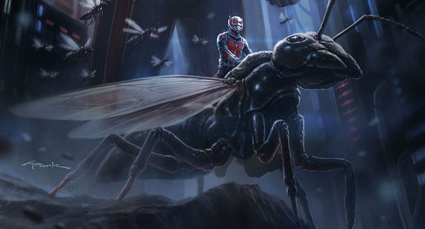 ant man flying Major Marvel News: Ant Man Cast Revealed; Early Avengers: Age of Ultron Details; Guardians of the Galaxy 2 Dated