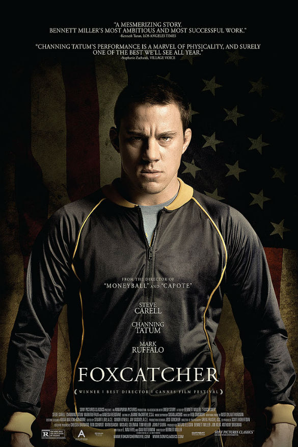 channing tatum 585 Movie News: Channing Tatums Foxcatcher Poster; New Trailers for The Two Faces of January and A Hard Days Night
