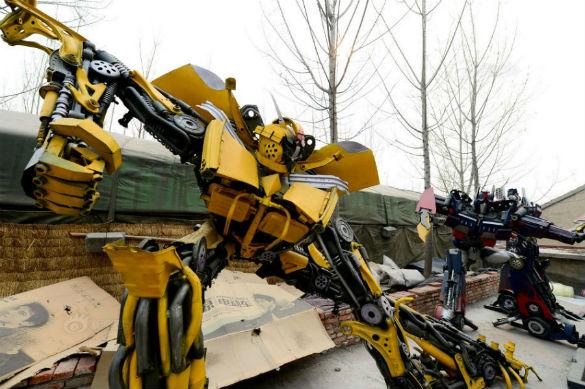 Transfomers - Chinese Robot