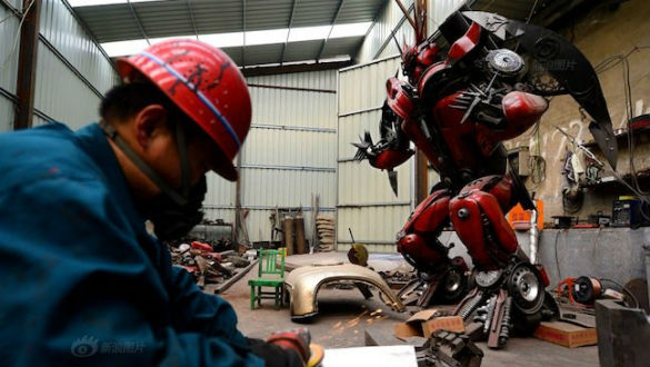 Transformers - Chinese Villager