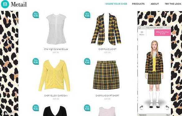 clueless2 Alicia Silverstones Sweet Virtual Fitting Room from Clueless Is Now a Reality