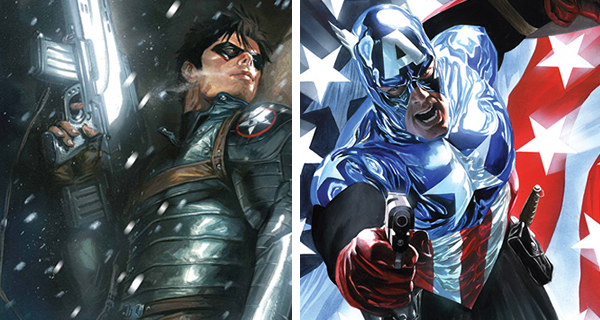 comicsonfilm buckyascap Comics on Film: Like Thor, Here Are Five Major Heroes That Also Had Substitutes