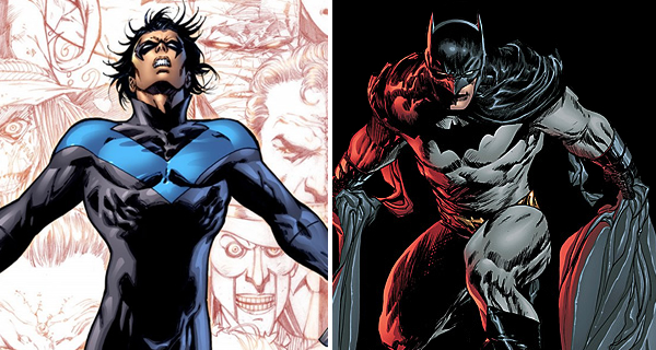 comicsonfilm nightwingasbatman Comics on Film: Like Thor, Here Are Five Major Heroes That Also Had Substitutes