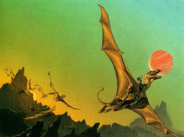 Dragonflight by Michael Whelan